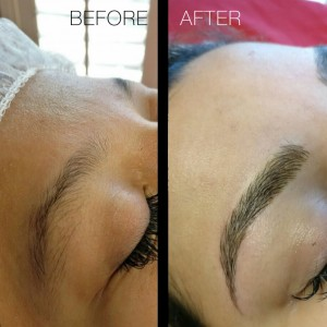 Flawless Brow Design Before & After Image